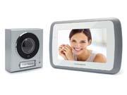 Interphone video mains libres- Ecran vidéo couleur 7''