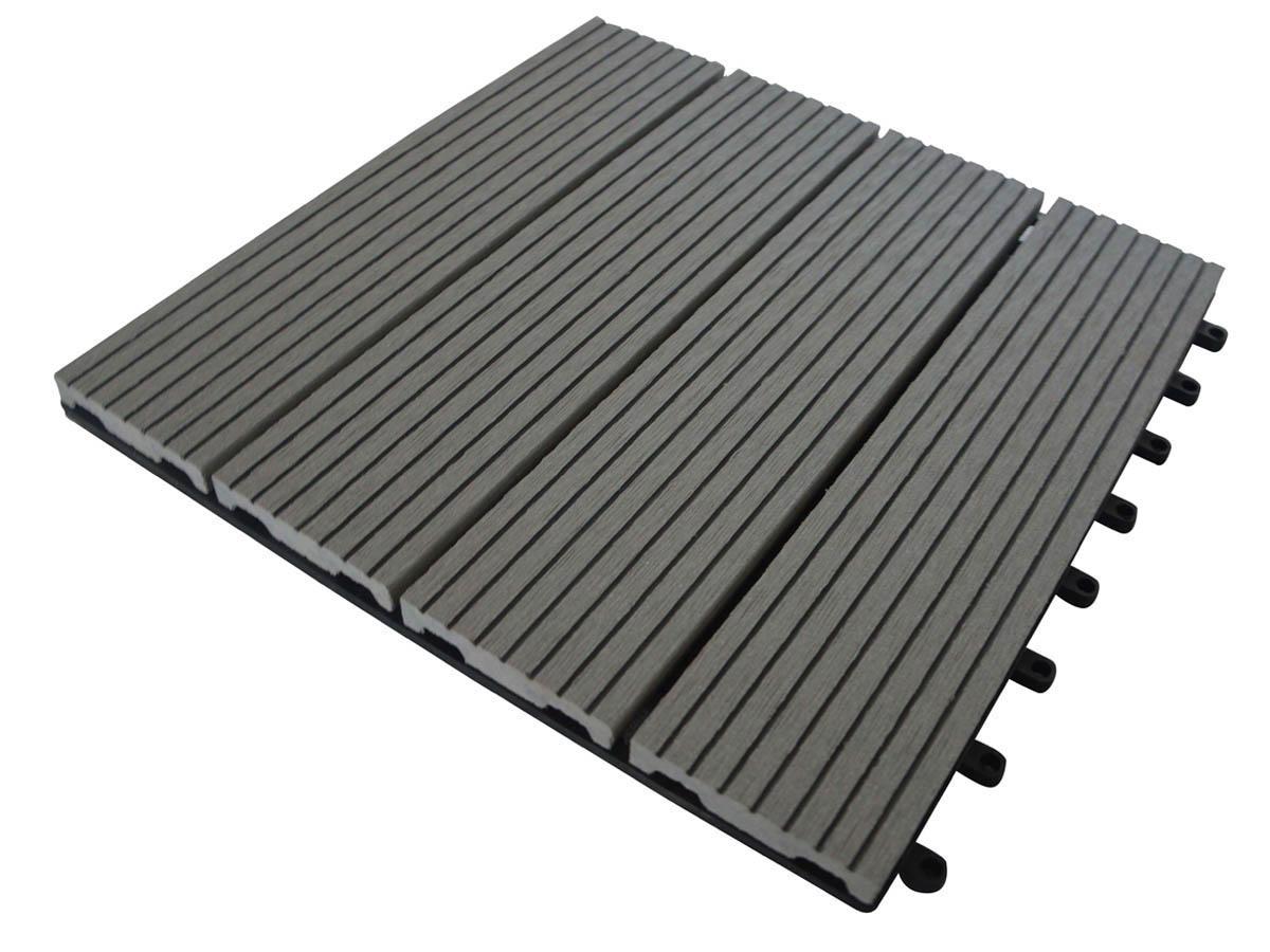 Bien choisir une dalle bois pas ch re conseils et comparateur de prix - Dalle de terrasse composite clipsable ...