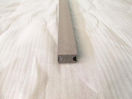 Lot de 4 lambourds composite (4 pièces) - gris