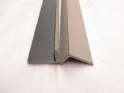 Cornière pour lames de terrasse composite - 40 x 60 cm - Gris