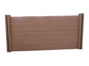 Panneaux droit en composite - L1.5 m x H1.0 m - Brun