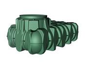 """kit jardin """"LI-LO CONFORT"""" 1500 litres avec passage piéton"""