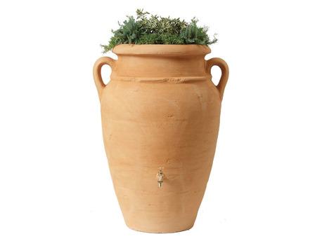 Kit Amphore Antik - Bac à plantes + collecteur + robinet - 600 L Sable
