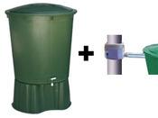 Kit 1 cuve de récupération d'eau de pluie