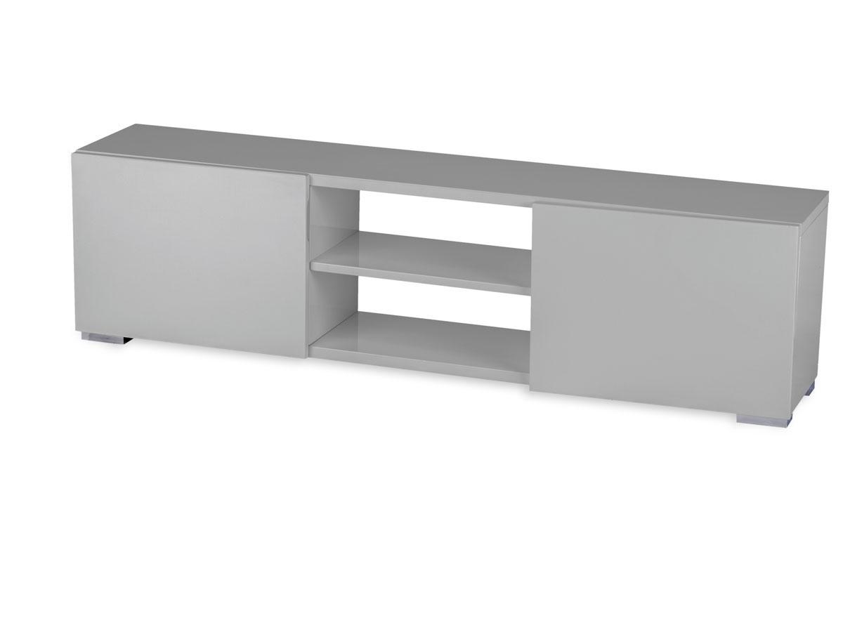 meuble tv frida 155 x 31 x 42 5 cm gris 69906 69909. Black Bedroom Furniture Sets. Home Design Ideas