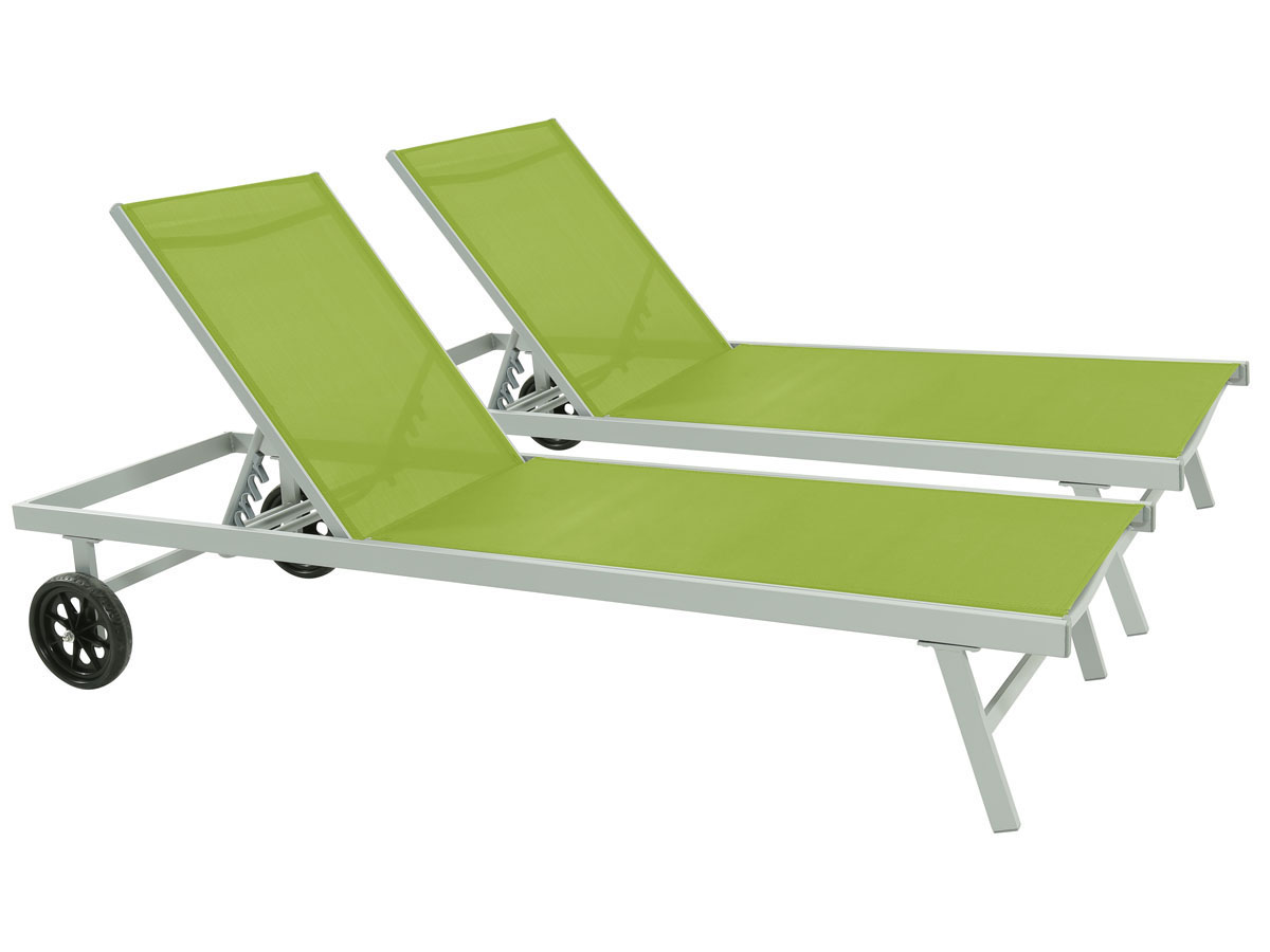bain de soleil en aluminium et textil ne bella phoenix. Black Bedroom Furniture Sets. Home Design Ideas