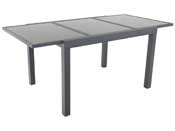 "Table de jardin extensible Aluminium ""Tropic 8"" - Phoenix - Anthracite"