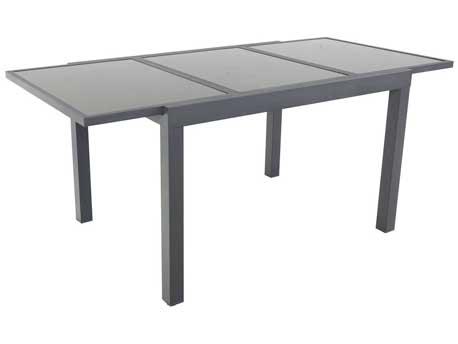 "Table de jardin extensible Aluminium ""Tropic 8"" - Phoenix - Anthracite"