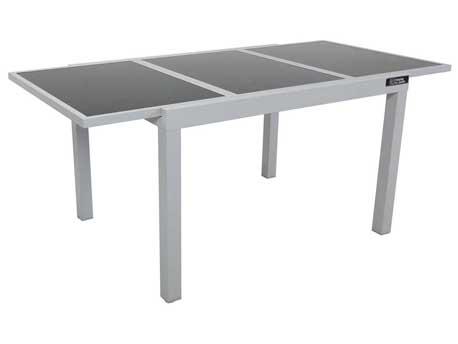 "Table de jardin extensible Aluminium ""Tropic 8"" - Phoenix - Argent"