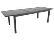 "Table de jardin extensible Aluminium ""Tropic 10"" - Phoenix - Anthracite"