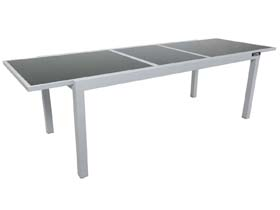 Table de jardin Alum extensible inverse
