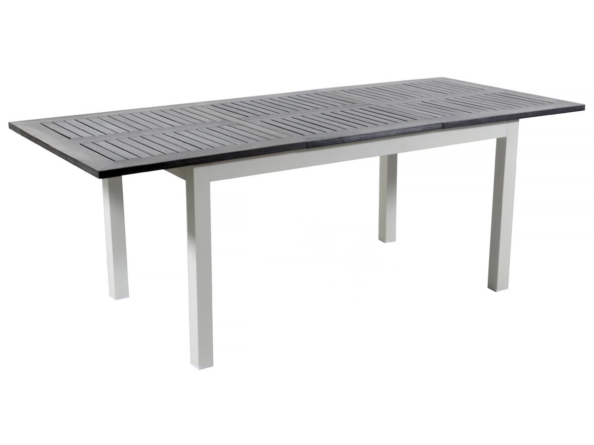 Table de jardin alu extensible canaries 8 seychelles for Table extensible en hauteur
