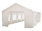 """Tente de réception """"Celia"""" en polyéthylène - 50m² - 5 x 10 x 2.9 m"""