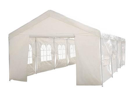 """Tente de réception """"Celia"""" en polyéthylène - 72m² - 6 x 12 x 2.9 m"""