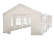 """Tente de réception """"Celia"""" en polyéthylène - 32m² - 4 x 8 x 2.9 m"""