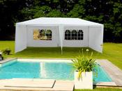 "Tente de réception ""Carolina"" en polyéthylène - 3 x 6 x 2,50 m"