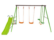 PORTIQUE ACIER ENZO - 1.96M - 4 AGRES