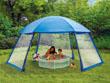 Tonnelle piscine en polyester 3 portes 5 x 3.9 x 2.5 m