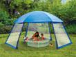 Tonnelle piscine en polyester 3 portes 6 x 5.2 x 2.8 m
