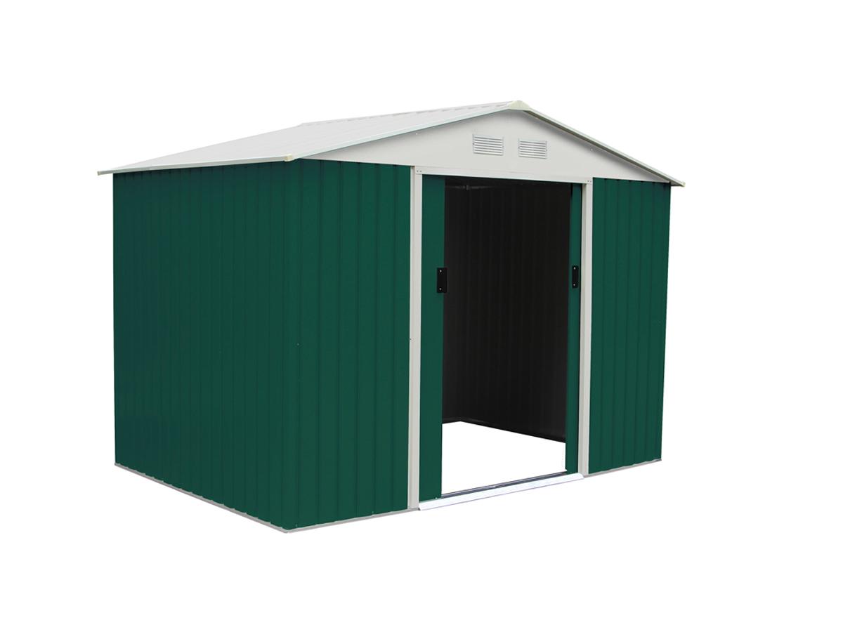 bien choisir un abri de jardin en m tal pas cher conseils. Black Bedroom Furniture Sets. Home Design Ideas