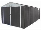 """Garage métal """"Nevada"""" avec porte battante - 18,56 m²"""