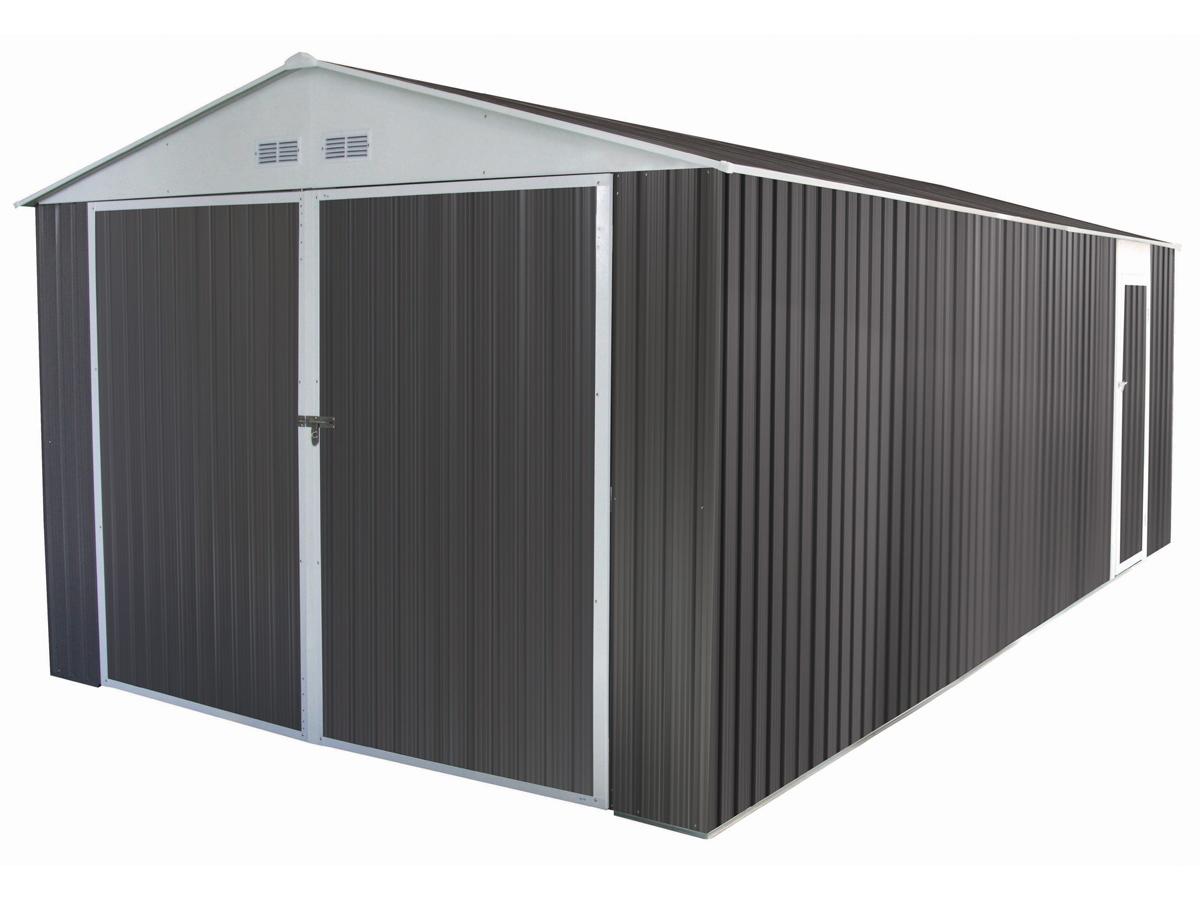 bien choisir un garage m tal pas cher conseils et prix. Black Bedroom Furniture Sets. Home Design Ideas