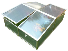 Mini serre de jardin ou balcon polycarbonate