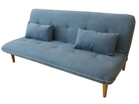 canap clic clac freddy bleu turquoise. Black Bedroom Furniture Sets. Home Design Ideas