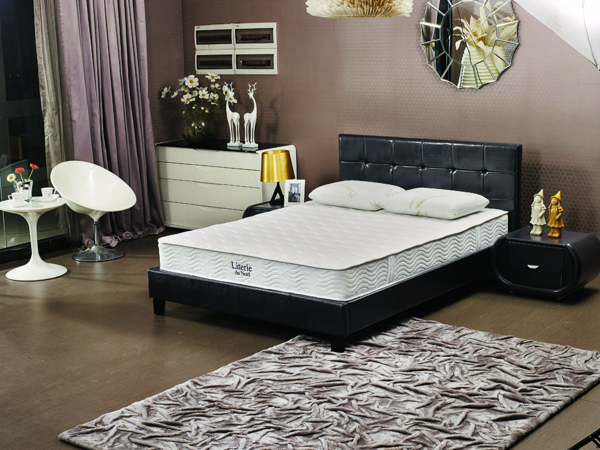 matelas ressorts adelia 140 x 190 cm 70066. Black Bedroom Furniture Sets. Home Design Ideas