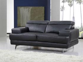 Canapé cuir reconstitué/PVC -