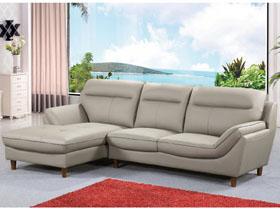 Canapé d'angle cuir reconstitué