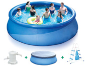"Piscine autoportante ronde ""Quick set pool""  - Ø 4.57 x H 1.22 m"