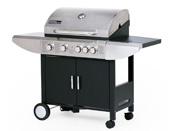 """Barbecue gaz """"Sirocco 4"""" - 5 brûleurs dont un feu latéral - 12.6 kW"""