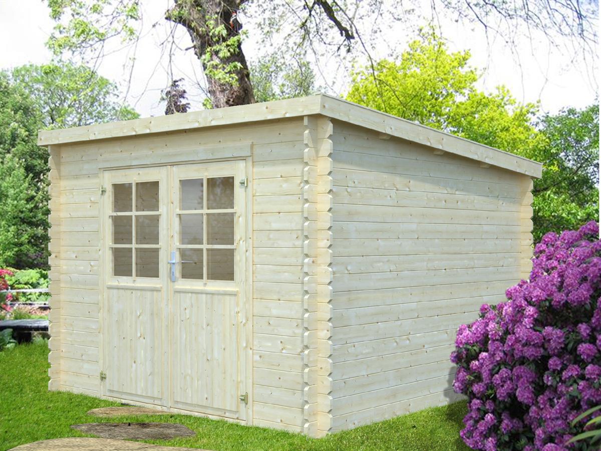 Habitat 28 mm - Abri de jardin autoclave classe 4 ...