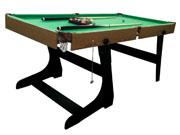 """Table de billard """" Enzo """" - 183 x 91.5 x 78.7 cm - MDF"""
