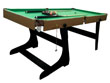 "Table de billard ""Enzo"" - 183 x 91.5 cm - Vert"