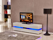 "Meuble TV Led ""Vida"" Blanc"