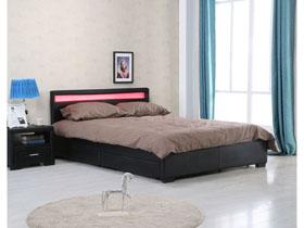 lit. Black Bedroom Furniture Sets. Home Design Ideas