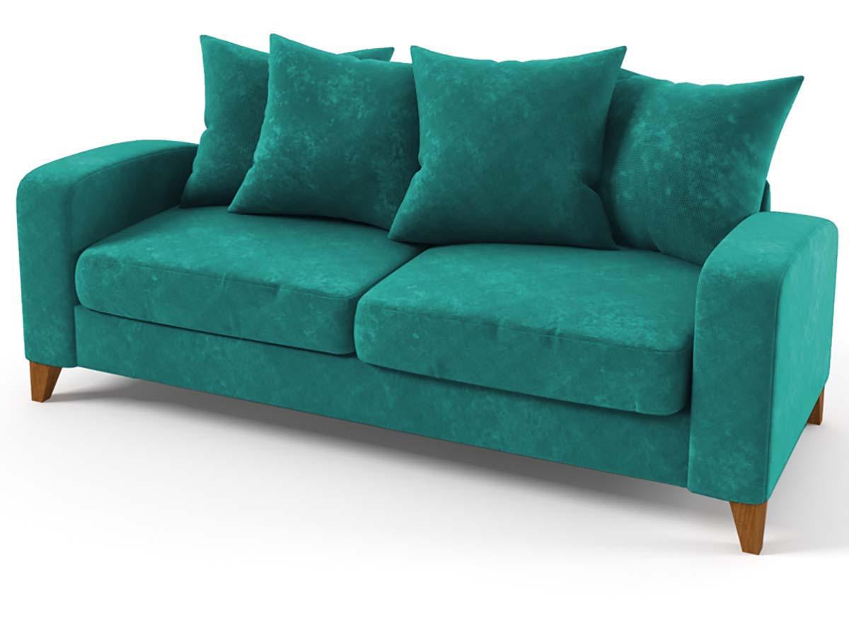 canap bleu turquoise fashion designs. Black Bedroom Furniture Sets. Home Design Ideas