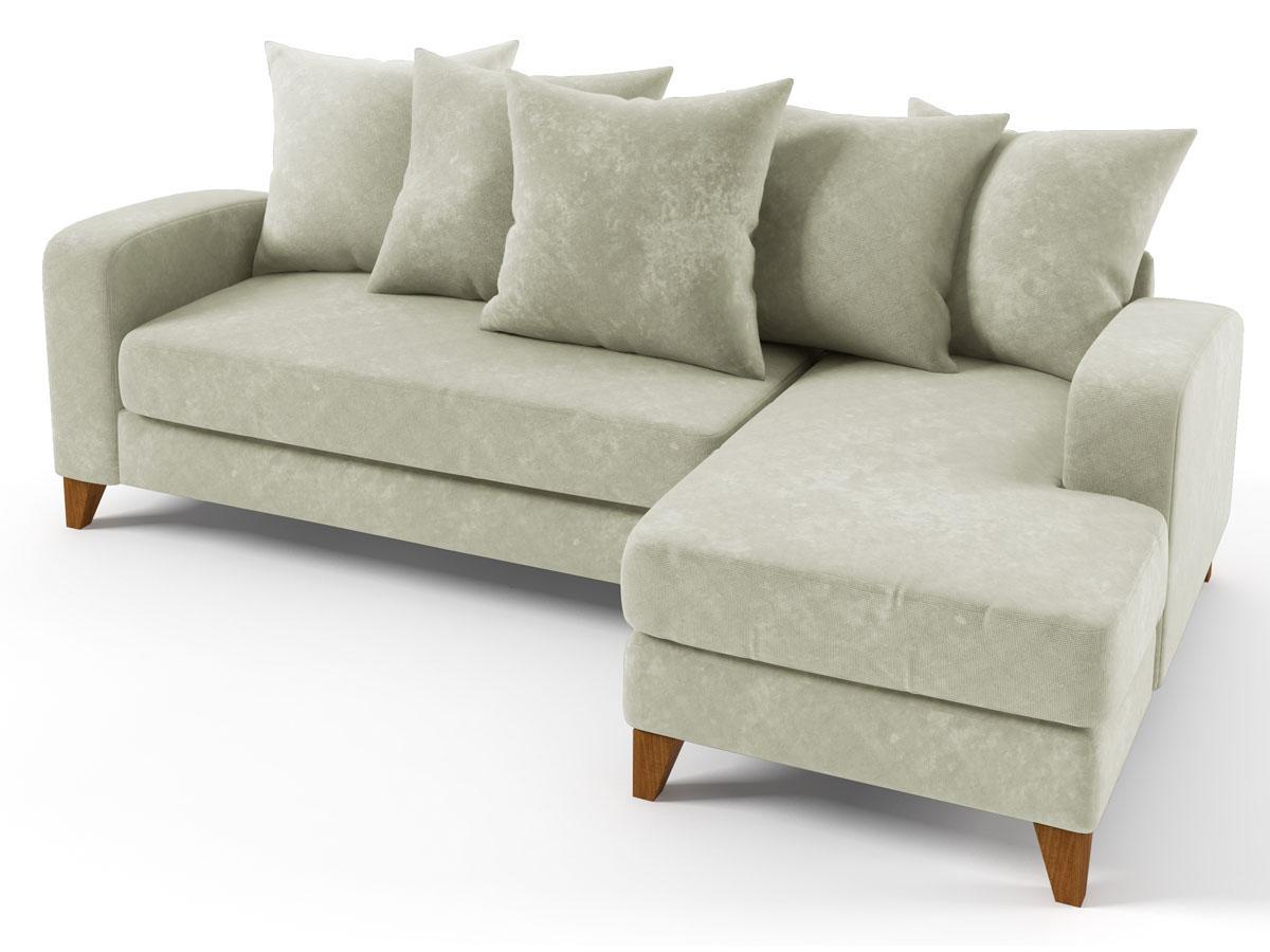 canap d 39 angle tissu aztec 3 4 places gris angle. Black Bedroom Furniture Sets. Home Design Ideas
