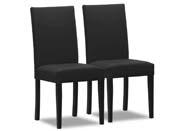 """Lot de 2 chaises """"Peter bis"""" - Gris foncé"""