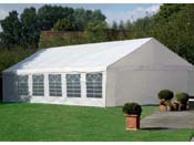 """Tente de réception """"Celia"""" en polyéthylène - 72m² - 6 x 12 m"""