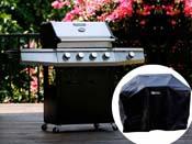 """Barbecue gaz """"Bingo 5"""" - 5 Brûleurs dont 1 latéral - 15.2kW + Housse protection"""
