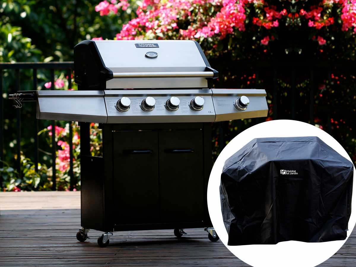 jardin barbecue gaz. Black Bedroom Furniture Sets. Home Design Ideas