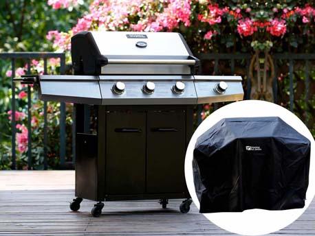 """Barbecue Gaz """"Bingo 4"""" - 4 brûleurs dont 1 latéral - 14kW + Housse protection"""