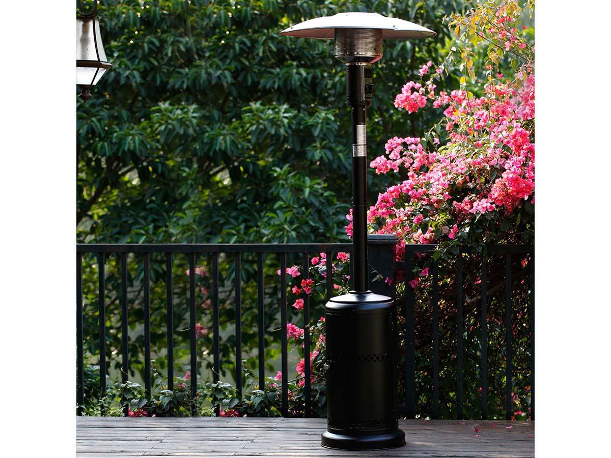 Parasol chauffant Relax 1 - 11.7 kW - Noir