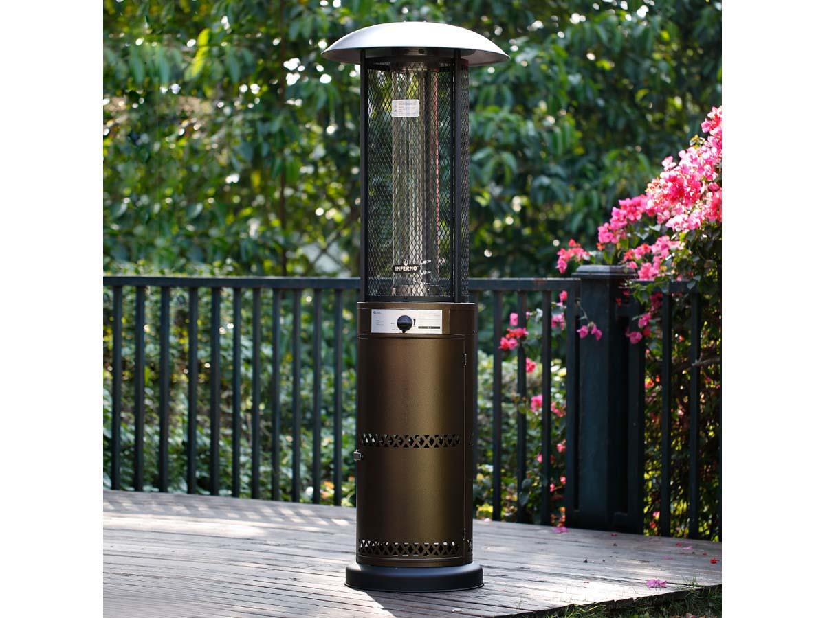 Parasol chauffant Relax 2 - 10.5 kW - Bronze
