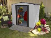 "Abri de jardin métal ""Newburgh Shed"" - 2.8 m²"
