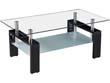 "Table basse ""Camillia"" - 110 x 60 x 45 cm - Noir"