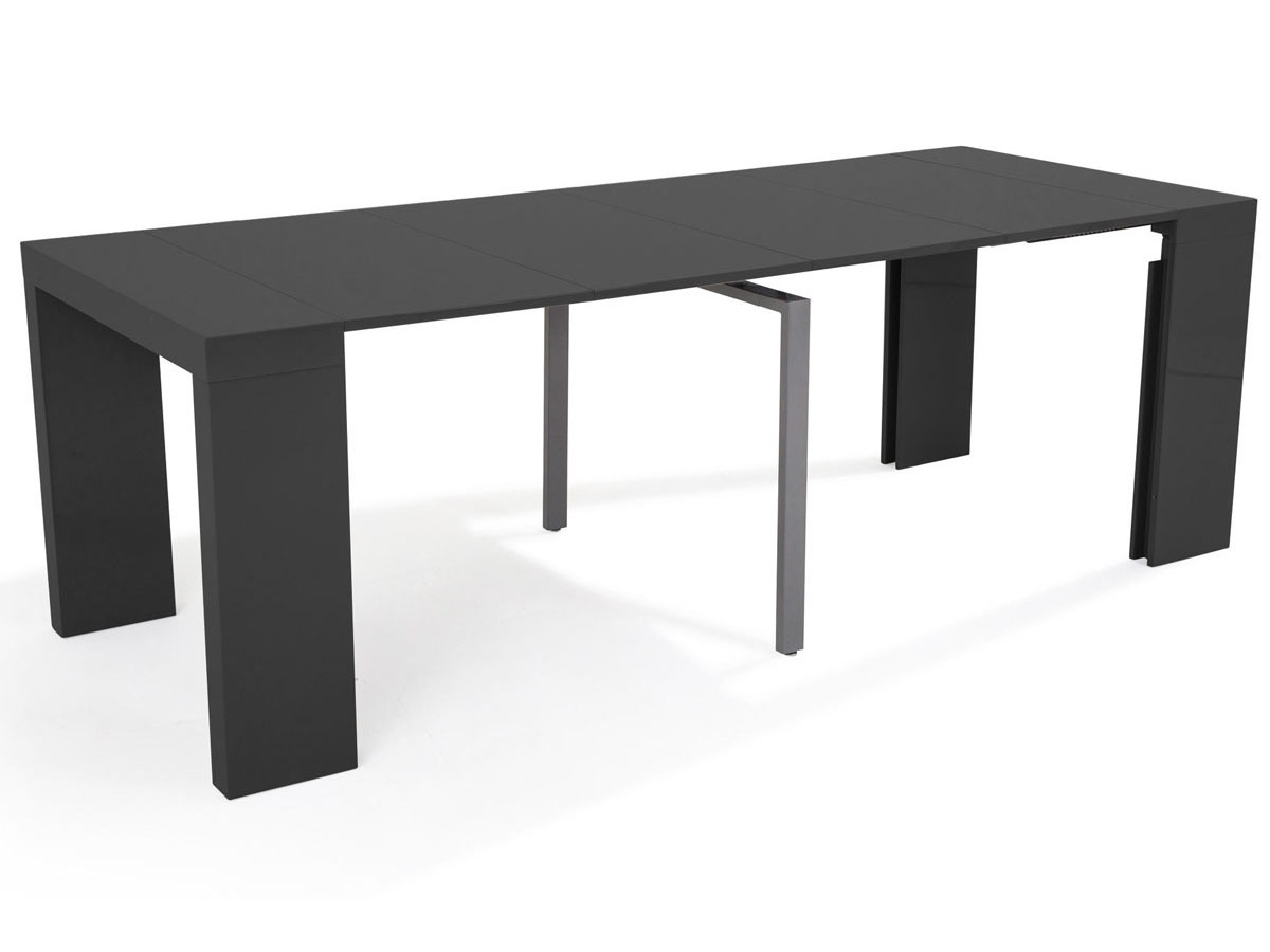 table console extensible elsa 300 50 x 94 x 75 cm. Black Bedroom Furniture Sets. Home Design Ideas